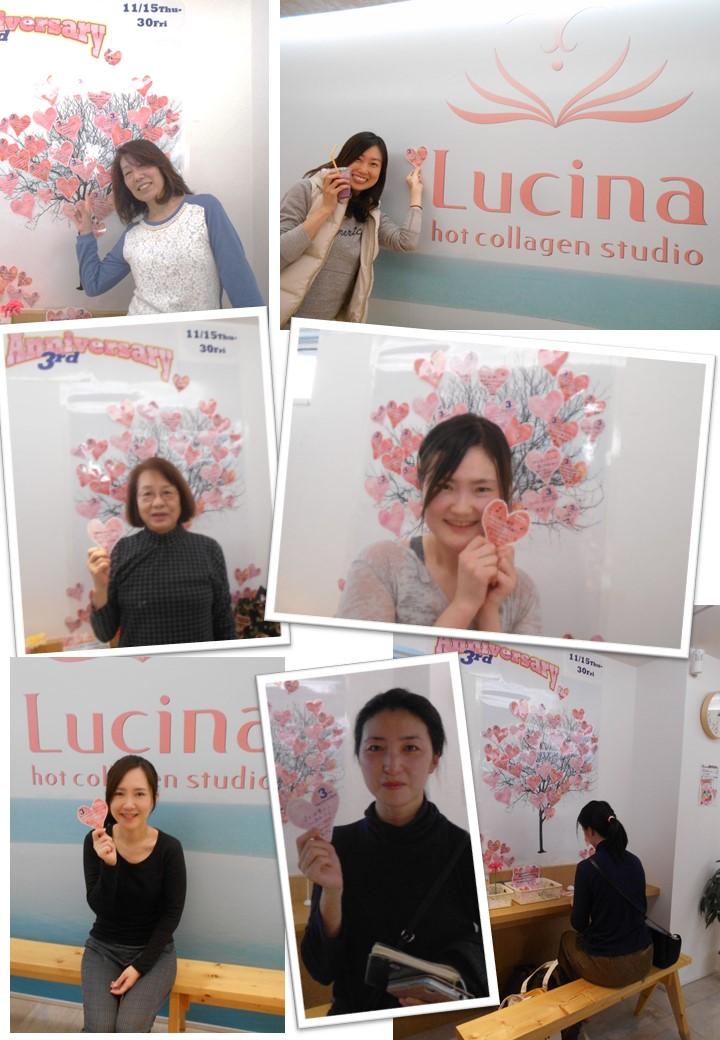 "【3nd anniversary】""感謝を込めて""3周年記念イベント模様③ ""BINGO""Lucina愛♬"